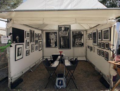 William Underwood Booth Shot Mainsail Art                   Festival